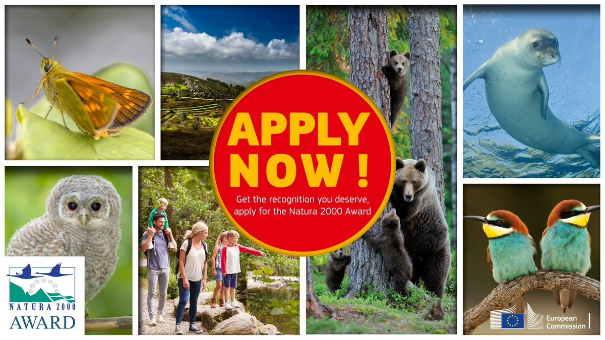 European Natura 2000 Award 2020: Call opens for top nature conservation initiatives until 15/10/2019